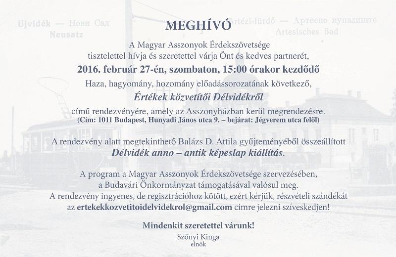 Meghívó_MÜE_Magyar Asszonyok Érdekszövetsége 1